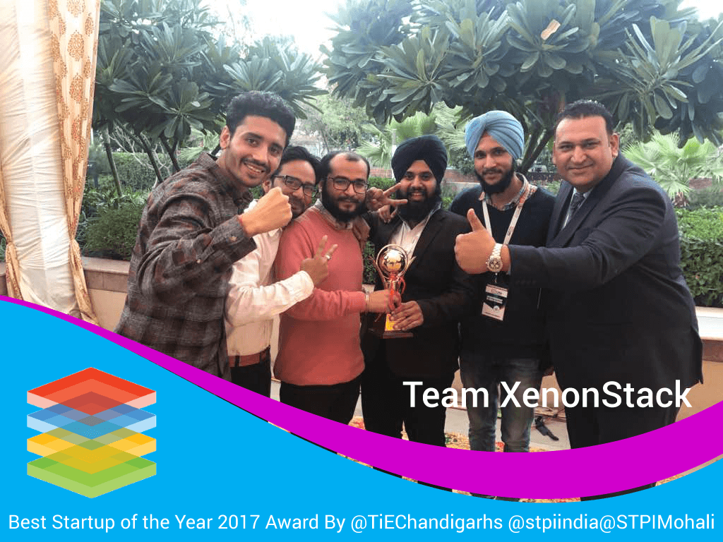 Best Startup of the Year 2017 as Recognized By Government of India